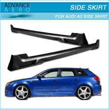 2006 audi a3 type for 2006 2009 audi a3 type a poly urethane side skirt bodykit 2pcs