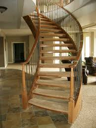 architech stairs u0026 railings curved stairs edmonton red deer
