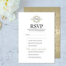 wedding invitations rsvp wording sle invitation card with rsvp fresh invitations wedding