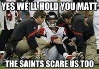 Saints Falcons Memes - coolest saints falcons memes falcons fans celebrating a saints win