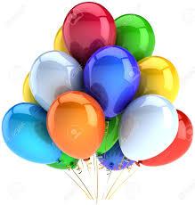 birthday balloons party celebration decoration of holiday