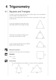 different triangles worksheet images reverse search