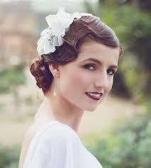 1920s bridal hair make up