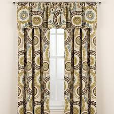Suzani Curtain Suzani Rod Pocket Window Curtain Panels Bed Bath Beyond