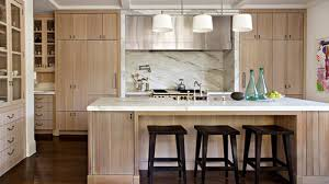 white washed maple kitchen cabinets white oak look on maple wood