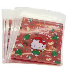 hello cat christmas present cookie candy snack party favor