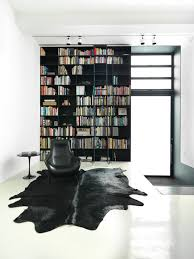 Cow Area Rug Cow Hide Rugs Family Room Contemporary With Black Floor Tile Cow