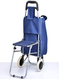 Folding Cot Online Shopping India Buy Multi Purpose Trolley Bag With Foldable Chair Online Best