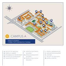 isi layout peta kampus