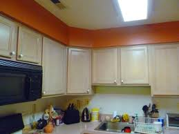 replace fluorescent light fixture in kitchen
