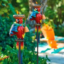Margaritaville Home Decor Margaritaville Party Parrot Torch Frontgate