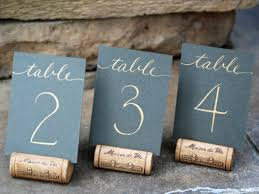 wedding table number holders 21 diy wedding table number ideas diy