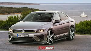 white volkswagen passat 2016 this is what a 2016 vw passat r could look like