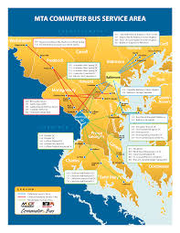 Show Me A Map Of Maryland This Awesome Map Demystifies Washington U0027s Long Distance Bus
