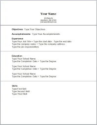 resume templates for high students with no work experience blank high student resume templates no work experience