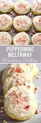 peppermint meltaway cookies cakescottage