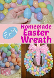 how to make an easter egg wreath affordable diy easter egg wreath faithfully free