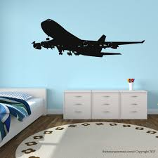 aliexpress com buy airplane vinyl wall decal decor easy aliexpress com buy airplane vinyl wall decal decor easy removable plane mural art wall sticker room bedroom art sticker home decorative decoration from