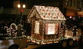 christmas light parade floats this picture inspired my idea for a float without any elves or santa