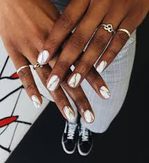 10 perfect marble nail art elegant look on nails gazzed