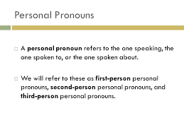 pronouns definition a pronoun is a word used in place of one