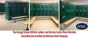 Athletic Benches Complete And Custom Locker Room And Benches Robinson Steel Co Blog