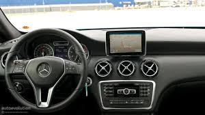 mercedes dashboard 2012 mercedes a class first drive review page 2 autoevolution