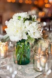 jar centerpieces for weddings chicago wedding by birch design studio pen carlson jar