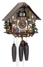 How To Wind A Cuckoo Clock Cuckoo Clock 8 Day Movement Chalet Style 32cm By Anton Schneider
