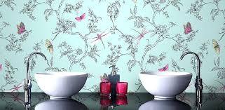 bathroom wallpaper designs bathroom wallpaper ideas thecoursecourse co