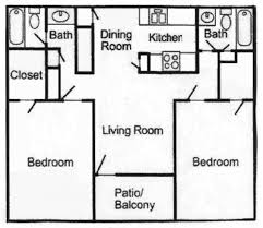 Plan Apartment by 25 More 2 Bedroom 3d Floor Plans Apartment Floor Plans Bedroom