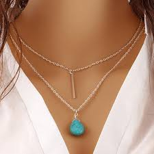 long turquoise pendant necklace images Turquoise pendant necklace gemselects jpg