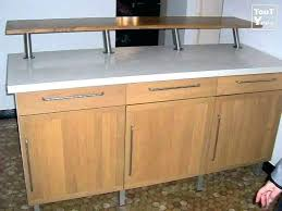 bar meuble cuisine bar de cuisine avec rangement affordable bar cuisine meuble exemples