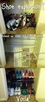 Shallow Closet Organizer - 273 best shoe storage images on pinterest storage ideas shoe