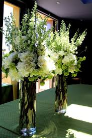 White Roses Centerpieces by Tall Hydrangea Centerpieces For Weddings White Roses