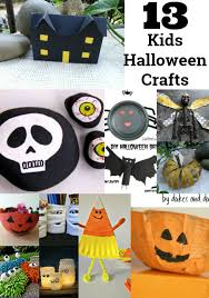 Kids Halloween Crafts Easy - 13 kids halloween crafts easy and frugal