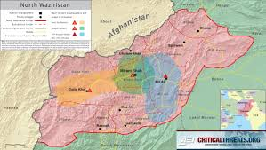 Map Of The Keys North Waziristan Map Critical Threats