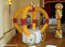 New Years Eve Balloon Decorations by San Jose Party Decorations Company Party Fiesta Balloon Decor