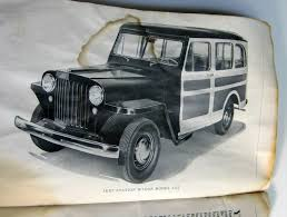 jeep station wagon lifted 1947 willys overland owners manual model 4 63 jeep station wagon