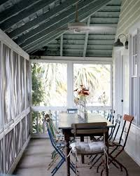 contemporary tall vases with painted wood ceiling porch shabby