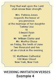 Wedding Invitation Verses 26 Christian Wedding Invitation Wording Examples Vizio Wedding
