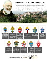 the padre pio relic tour comes to the usa this week catholicmom