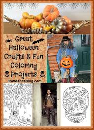 Halloween 2015 Crafts Great Halloween Crafts And Fun Coloring Projects Bowdabra Blog