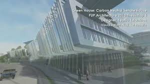 green house carbon neutral senate house of the philippines