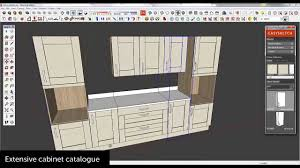 Sketchup Kitchen Design Kitchen Design With Sketchup And Easysketch Youtube
