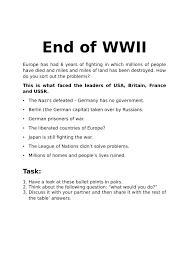 ww2 essay