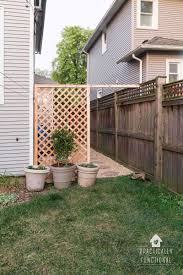 build a simple diy trellis screen to hide ugly areas in your backyard