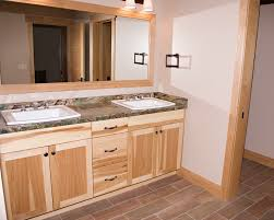 hickory cabinets with granite countertops dark brown hairs
