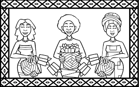 africa flag coloring pages south kids best of glum me