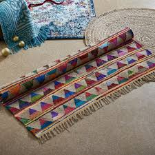 new marlo natural jute and cotton rug ebay